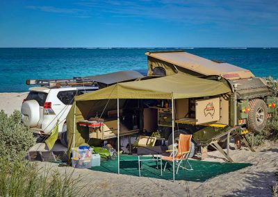Absolute beach front location at 14 Mile/Warroora Station