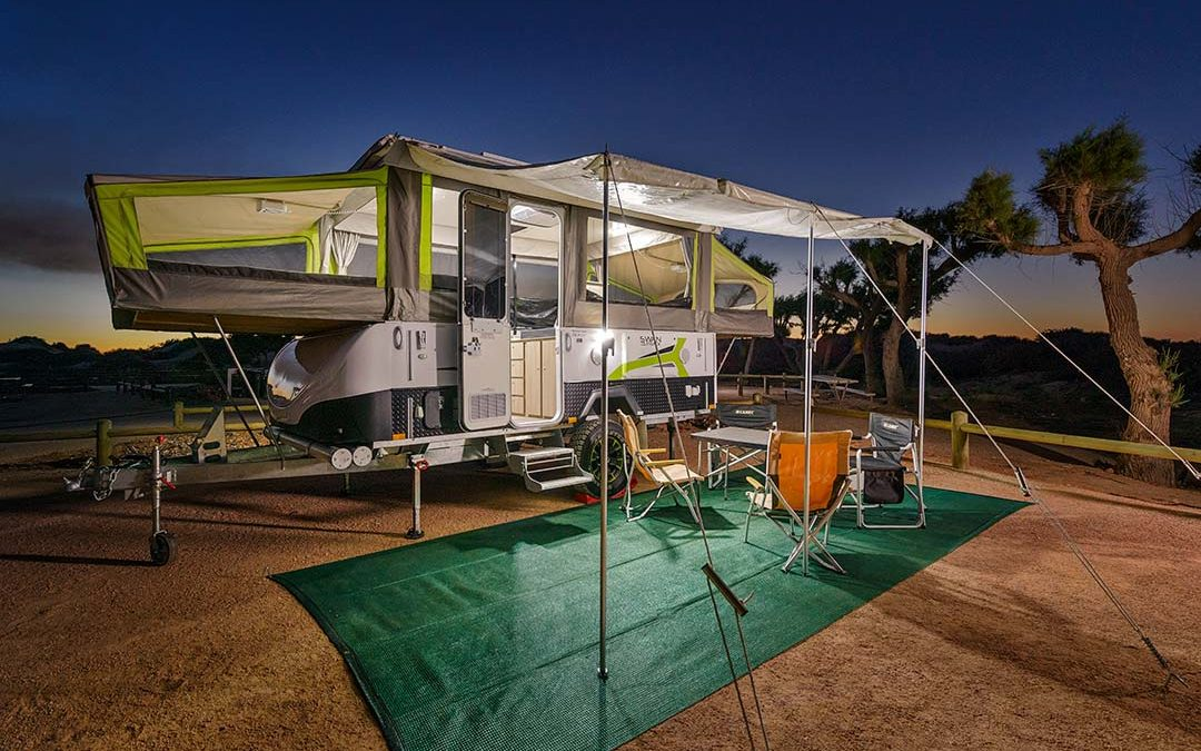 Jayco Swan Outback 4-Berth | Exmouth