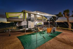 Jayco Swan Outback Pop-Top Camper Trailer for Hire in Exmouth, Western Australia