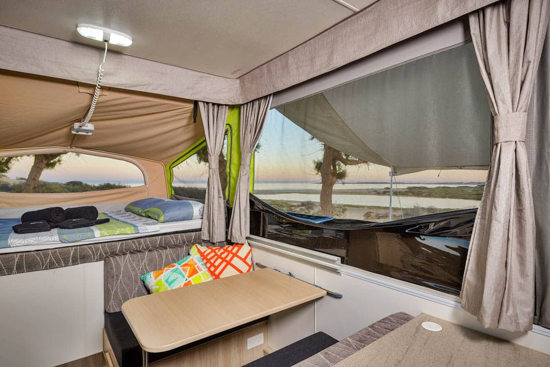 Jayco Swan Outback Pop-Top Camper Trailer for Hire in ...
