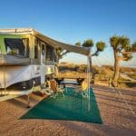 Delivery, set up and pack down service available for our Jayco Swan Outback Camper Trailer at Ningaloo Reef