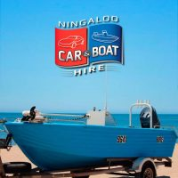 Polycraft 4.8m centre console boat for Hire at Ningaloo Reef