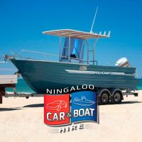 Polycraft 5.9m centre console boat for Hire at Ningaloo Reef