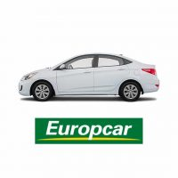 Sedan for Hire from Europcar at Ningaloo Reef