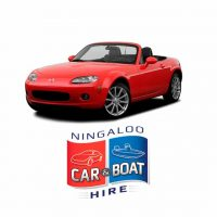 Mazda MX5 Convertible for Hire at Ningaloo Reef